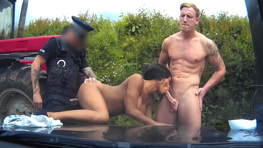 image Fake cop threesome and uk russian amateur