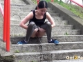pissingonsteps
